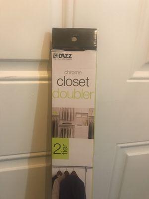 2 Tier Closet Organizer for Sale in San Antonio, TX