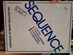 Sequence board game for Sale in Elk Grove, CA