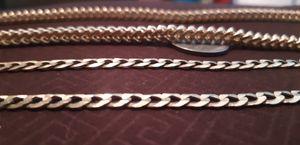 10k franco gold chain for Sale in Phoenix, AZ
