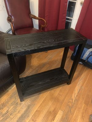 Table Console black wooden slightly used for Sale in Brooklyn, NY