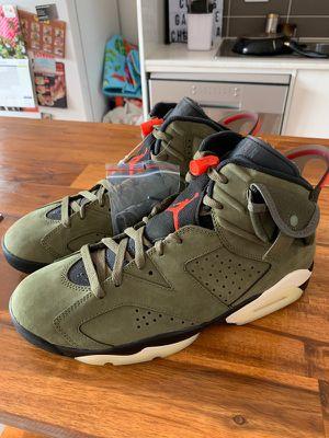 Travis Scott x Air Jordan 6 Retro Olive for Sale in Columbia, SC