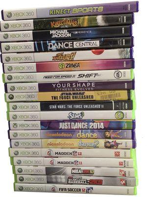 XBox 360 Games (19) for Sale in Cambridge, MA