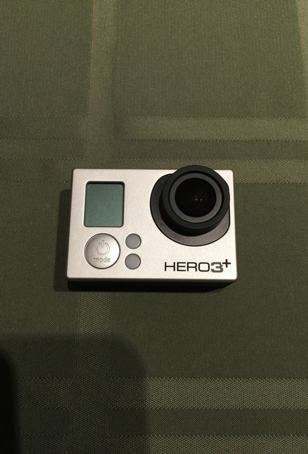 GoPro HERO3+ with case and accessories