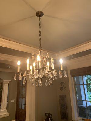 Antique crystal chandelier for Sale in Kirkland, WA