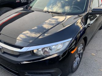 2017 Honda Civic EX Sedan Clean Title Rims And Leather for Sale in Hollywood,  FL