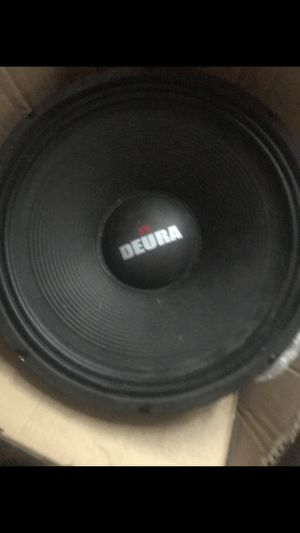 3 Deura 15in subwoofer speakers 2000 watts each says in box just the subwoofers i dont have the subwoofer box for Sale in Cheverly, MD