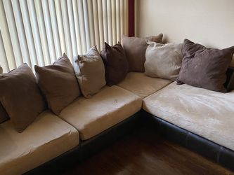 Sectional Couch And Chair for Sale in St. Louis,  MO
