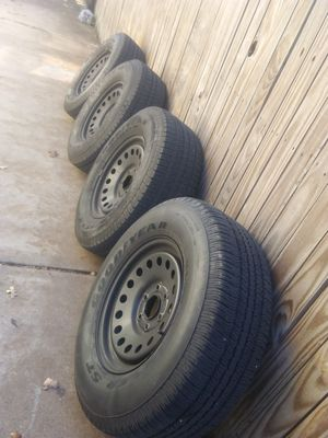Rims and Tires chevi for Sale in Fort Worth, TX
