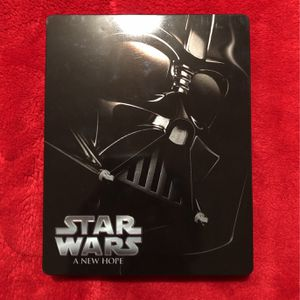 Star Wars A New Hope Blu Ray Steel Book Blu-ray Steelbook Starwars for Sale in Los Angeles, CA