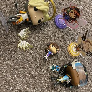 Overwatch Figure Bundle for Sale in Albuquerque, NM
