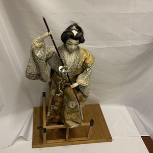 "Vintage Japanese Samurai Doll With Swords 24"" Tall for Sale in Las Vegas, NV"