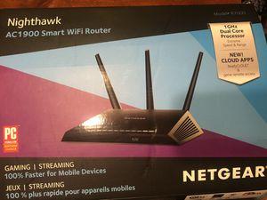 Negrear Nighthawk AC1900 Smart WiFi Router for Sale in Gurnee, IL