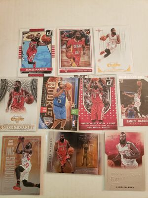 James Harden Rockets Thunder NBA basketball cards for Sale in Gresham, OR