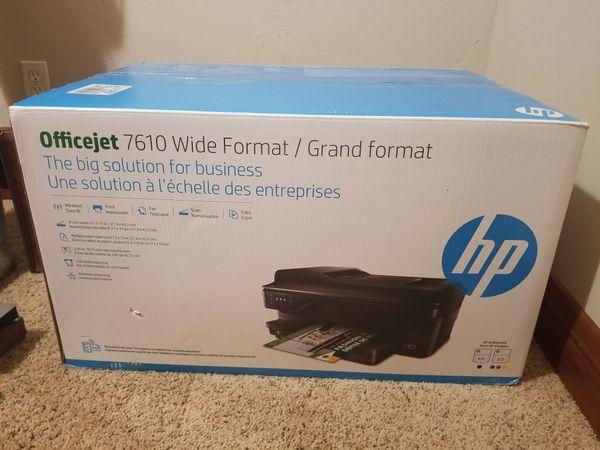 Officejet HP 7610 Wide format Printer