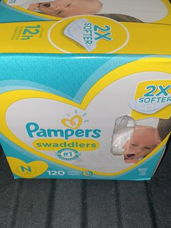 Newborn Pampers Swaddlers for Sale in Fullerton,  CA