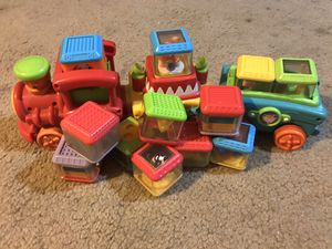 Fisher Price Peek-a-block Train for Sale in Tucson, AZ