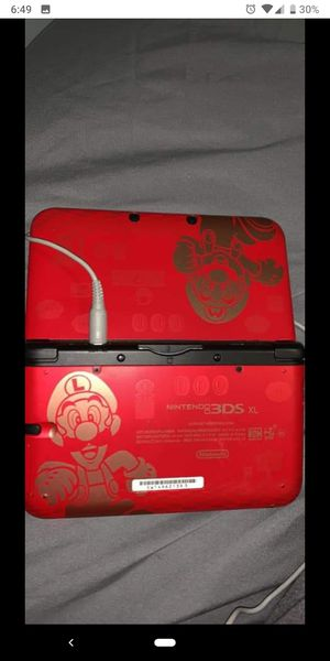 Nintendo 3DS XL Mario Special Edition with games GOOD CONDITION for Sale in Taunton, MA
