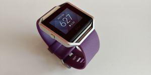Fitbit Blaze Smart Fitness Watch, Plum & Silver (Small band) $99 OBO for Sale in Seattle, WA