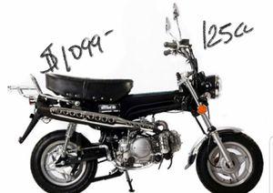 MOTORCYCLE 125cc 2017 like HONDA trailbike 50 dirtbike for Sale in Roy, UT