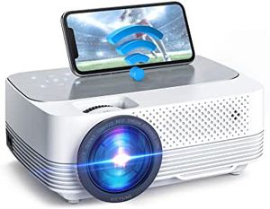 New Victsing Bluetooth WiFi Mini Projector 5000 Lumens Full HD PS4 XBOX Nintendo PC for Sale in Chino, CA
