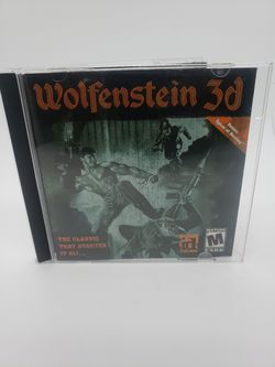 WOLFENSTEIN 3D 2001 ID Software Activision PC Computer Game CD-Rom for Sale in Winter Springs,  FL