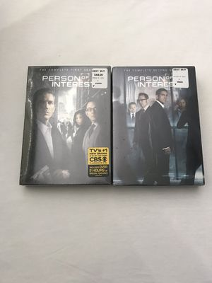 "DVD TV Series ""Person Of Interest"" Seasons 1-2 Sealed In Plastic New Both For $20 for Sale in Reedley, CA"