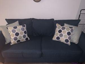 Dark teal sofa $200 for Sale in Richmond, VA