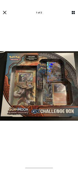 Pokemon - Sun & Moon Burning Shadows GX Challenge Box Lycanroc Edition for Sale in Upper Arlington, OH