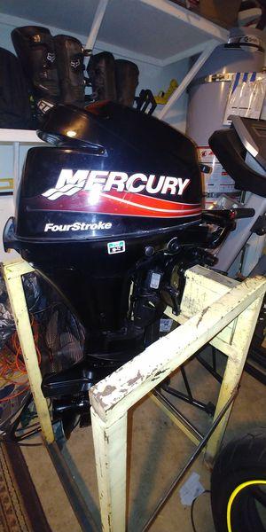 Mercury outboard 9.9hp for Sale in Stockton, CA