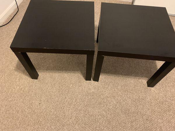 IKEA LACK side tables