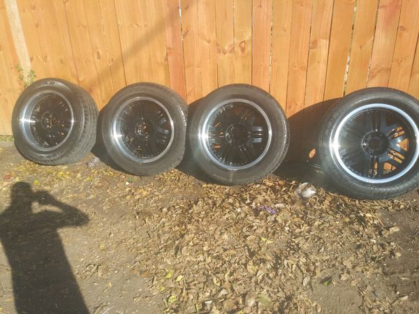 Size 20 radical n3000 tires with rim
