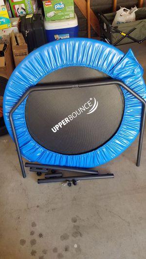 UpperBounce exercise trampoline 40in x 15in for Sale in Hemet, CA