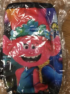 Trolls child size face mask for Sale in Chula Vista, CA