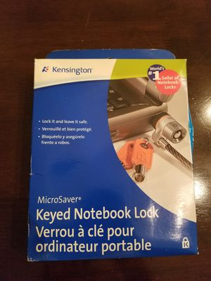 (irvine, CA) Brand New Kensington Keyed Notebook / Laptop Lock and Cable for Sale in Chino, CA