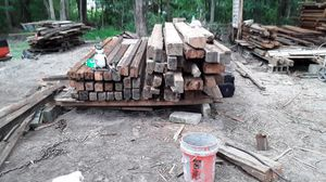Reclaimed heart pine beams for Sale in Rentz, GA