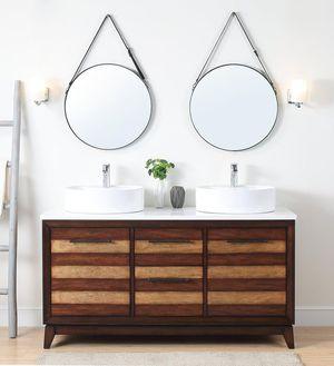 Bathroom vanity Vessel Sinks INCLUDED! for Sale in Coral Springs, FL