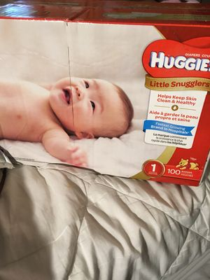 Huggies Size 1 diapers for Sale in Haines City, FL