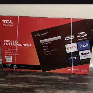 55 Inch 4K Smart ROKU TV for Sale in Fort Worth, TX