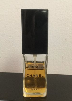 VINTAGE Chanel Cristalle EDT Perfume Spray 2 FL OZ for Sale in Brooklyn, NY