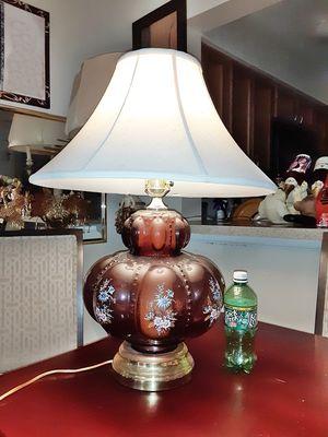 Mid Century Hollywood Regency Melon Bubble Lamp for Sale in Mount Rainier, MD