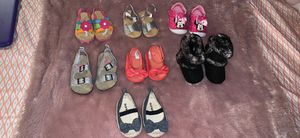 Baby girl sandals and boot for Sale in Lebanon, PA