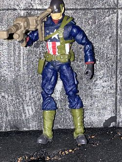 Marvel Universe WW2 Captain America with Canon for Sale in San Diego,  CA