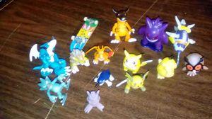 14 PC's vintage Pokemon figures for Sale in Fresno, CA