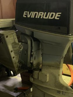 70hp Evinrude 2 Stroke Outboard Engine for Sale in Indianapolis,  IN