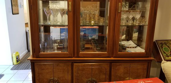China cabinet for sale need to go