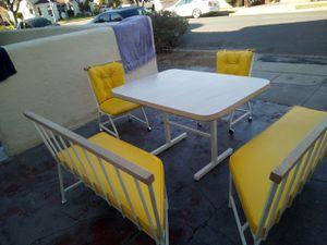 Table Vintage breakfast nook for Sale in Long Beach, CA