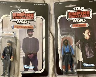 1979 star wars action figures Lando Complete & Bespin security Vintage Comp for Sale in Sylmar,  CA