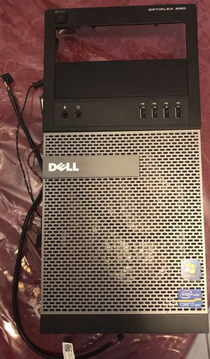 Dell Optiplex 990 front cover w/audio USB assembly /switches for Sale in Denver, CO