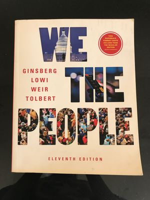 Resell: We The People 11th Edition for Sale in Houston, TX