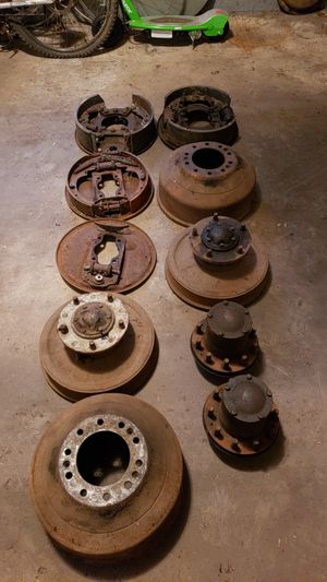 1954 CHEVROLET/GMC 4400/3800 Truck series brake drum set up for Sale in Trout Valley, IL